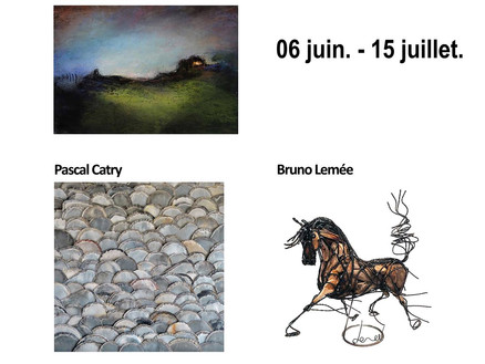 Exposition Trio - Pascal Catry - Nathalie Gioria et Bruno Lemee