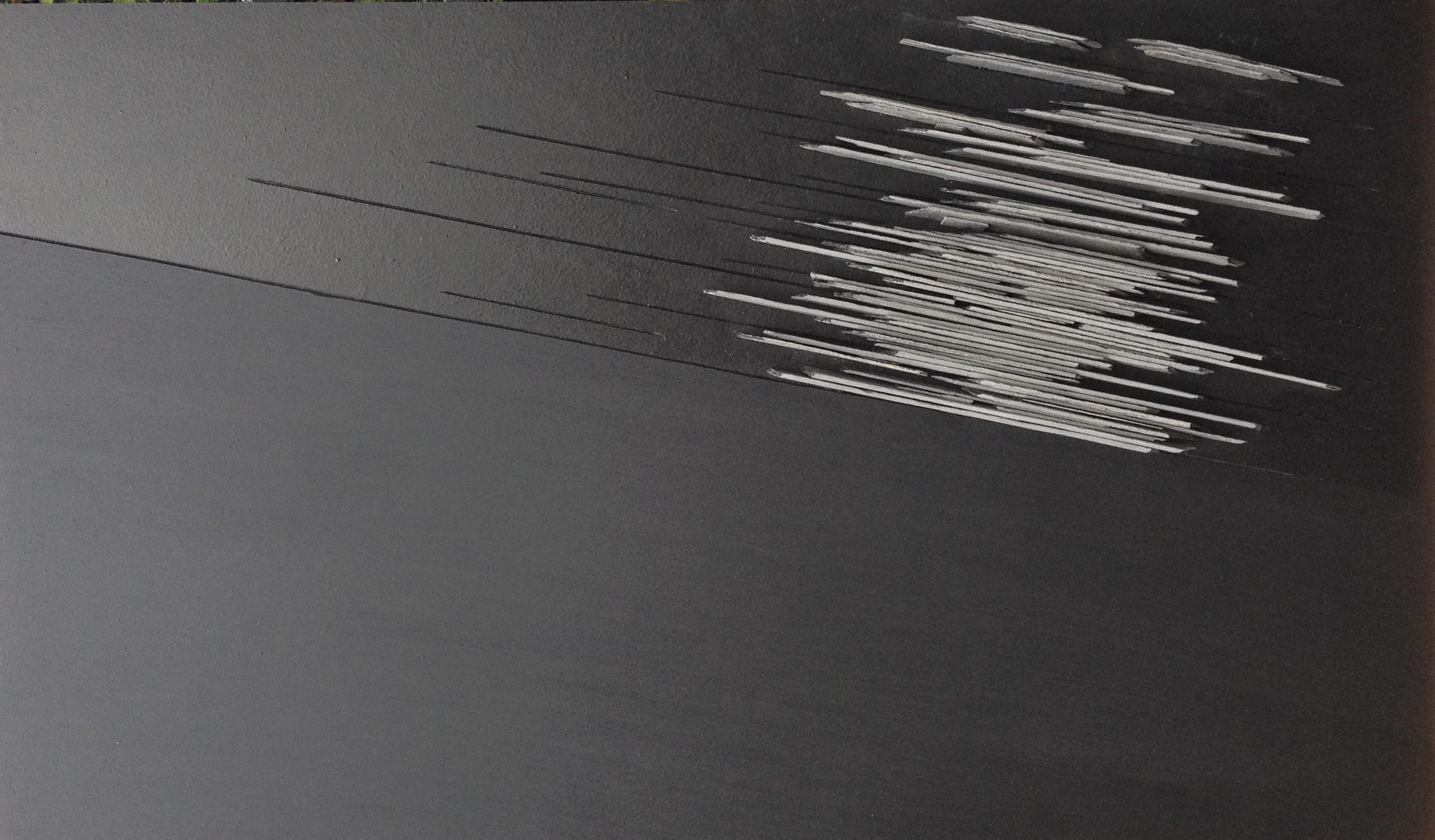 Sezny Peron - Souffle - 70x120 - Ardoises et bois