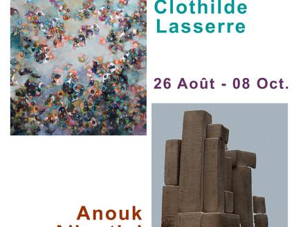 Exposition Duo - Clothilde Lasserre et Anouk Albertini