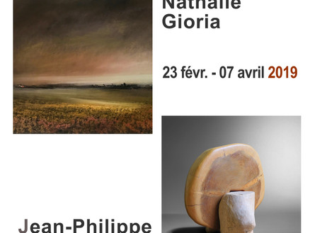 Exposition Duo Jean-Philippe Monnard - Nathalie Gioria