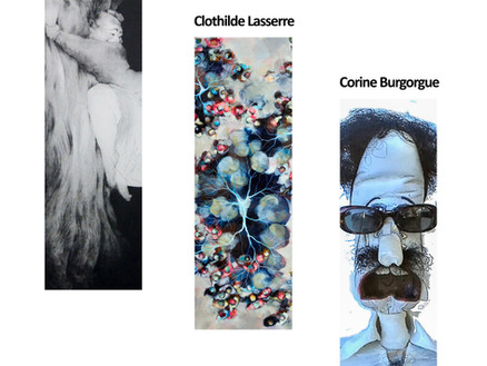 Exposition Trio - Jeanne Rebillaud, Clothilde Lasserre et Corine Burgorgue