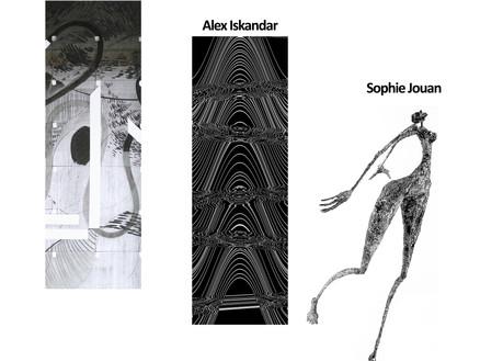 Exposition Trio Fabien Jouanneau - Alex Iskandar et Sophie Jouan