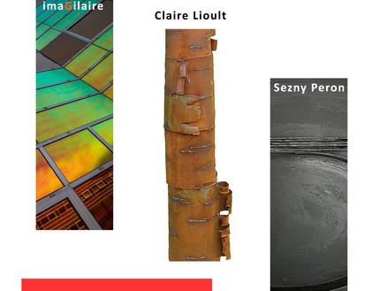 Exposition Trio - imaGilaire - Sezny Peron et Claire Lioult