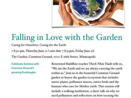 Common Ground Meditation Center Presents