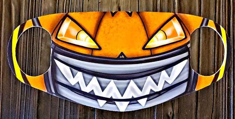 Jack O Face Mask
