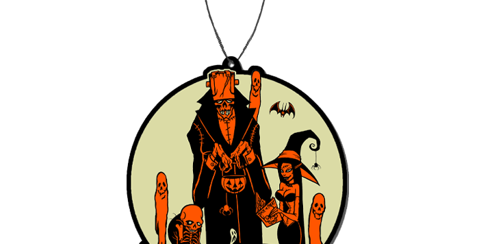 Toxictoons Happy Halloween - FEAR FRESHENER