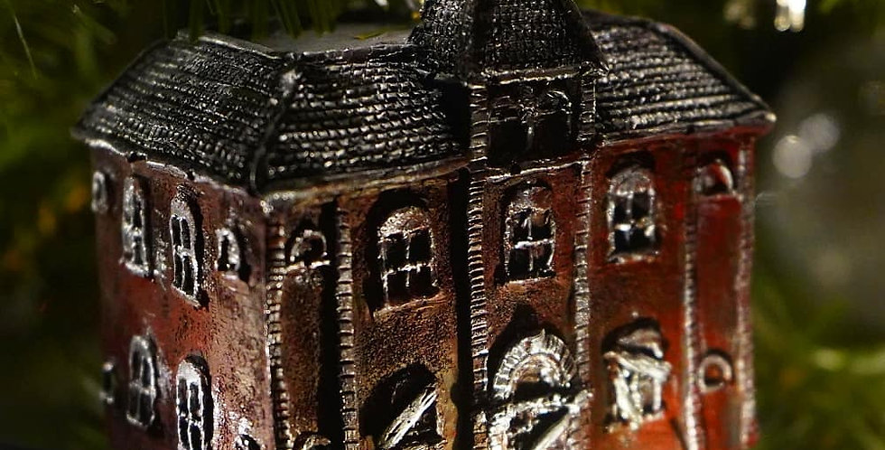 Dent Schoolhouse Ornament