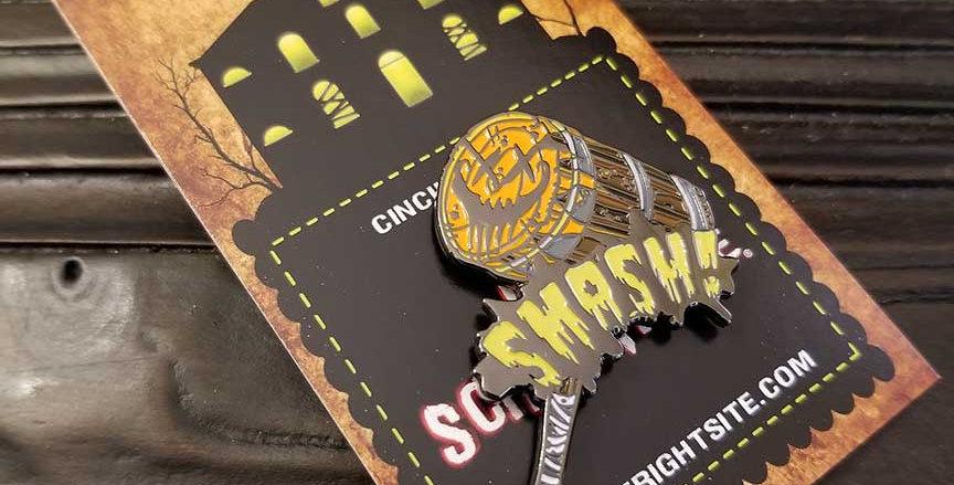 Pumpkin Smasher Pin