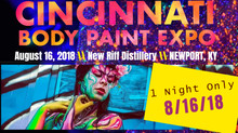 1st Ever Cincinnati Body Paint Expo