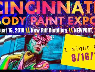 1st Ever Cincinnati Body Paint Expo