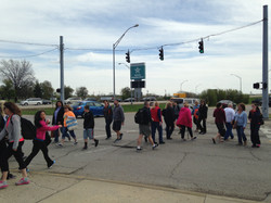 Phillips Lane crossing