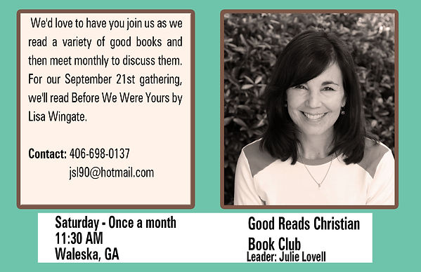 Good Reads Book Club - Julie Lovell - Fa