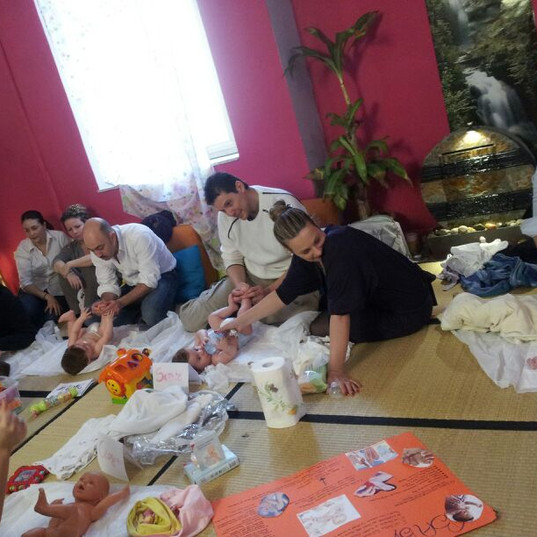 Incontri e Percorsi di Baby Massage