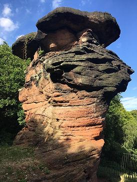 Hemlock Stone - Permo-Triassic Fluvial S