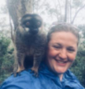 Jo Morris in Madagascar