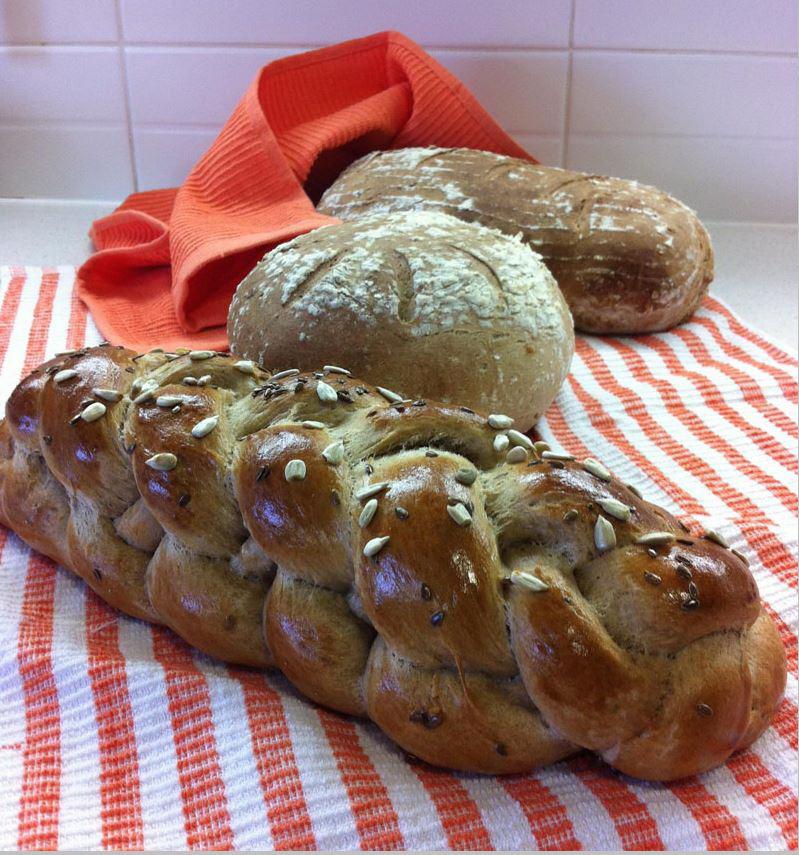 לחם חצי חצי