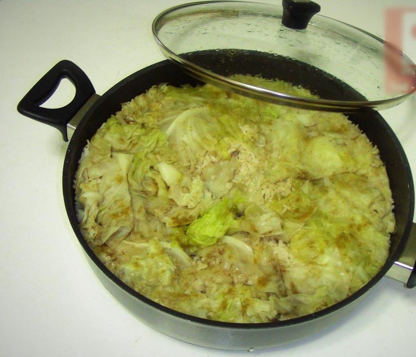 אורז בכרוב של מוזנה
