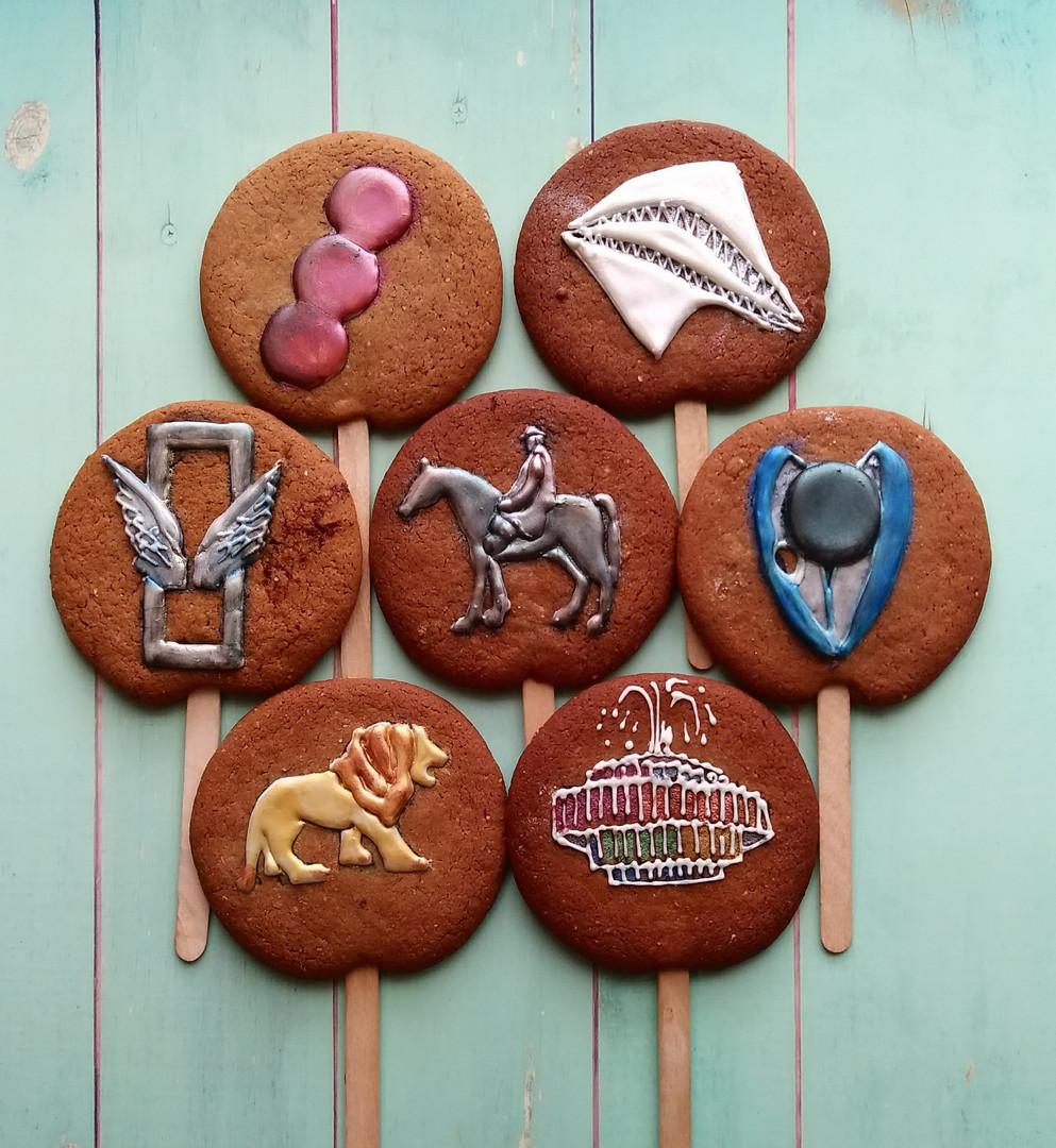 עוגיות ג'ינג'ר ברד תל אביביות