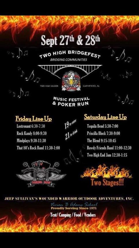 Rock Kandy at Bridgefest Sept 27th!