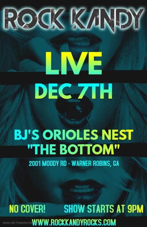 """BJ'S ORIOLES NEST """"THE BOTTOM"""""""