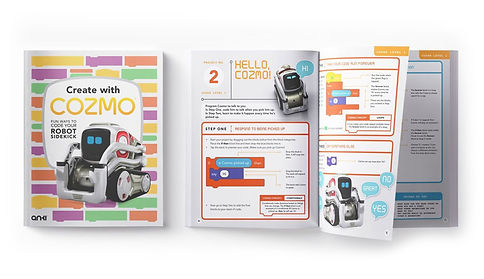 Create with Cozmo, the workbook