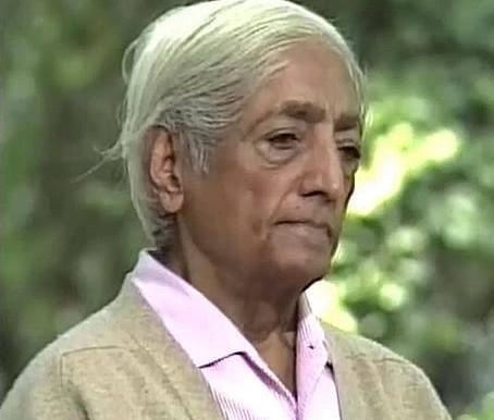Krishnamurti,  Sans connaissance de soi, il n'y a pas de paix