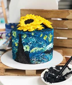 Tarta Van Gogh