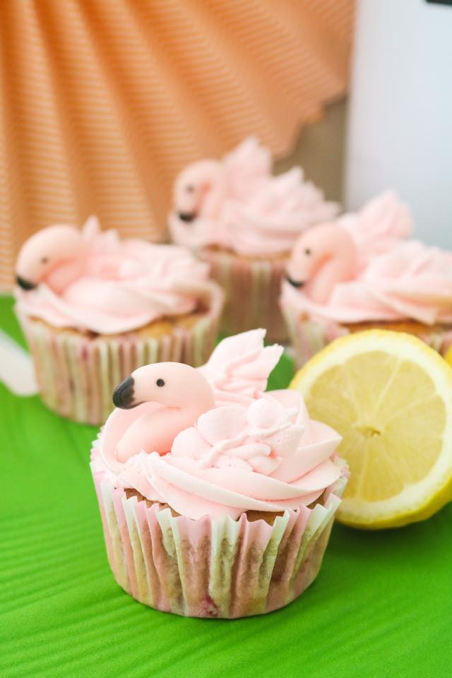 Cupcakes flamenco