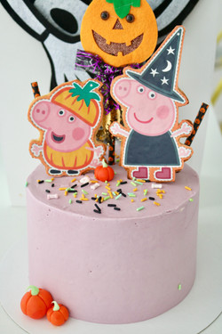 Tarta Pepa Pig Halloween