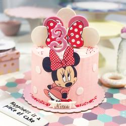 Tarta Minnie rosa 2