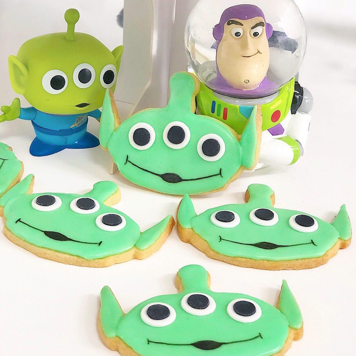 Galletas marcianito Toy Story