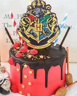Tarta Hogwarts