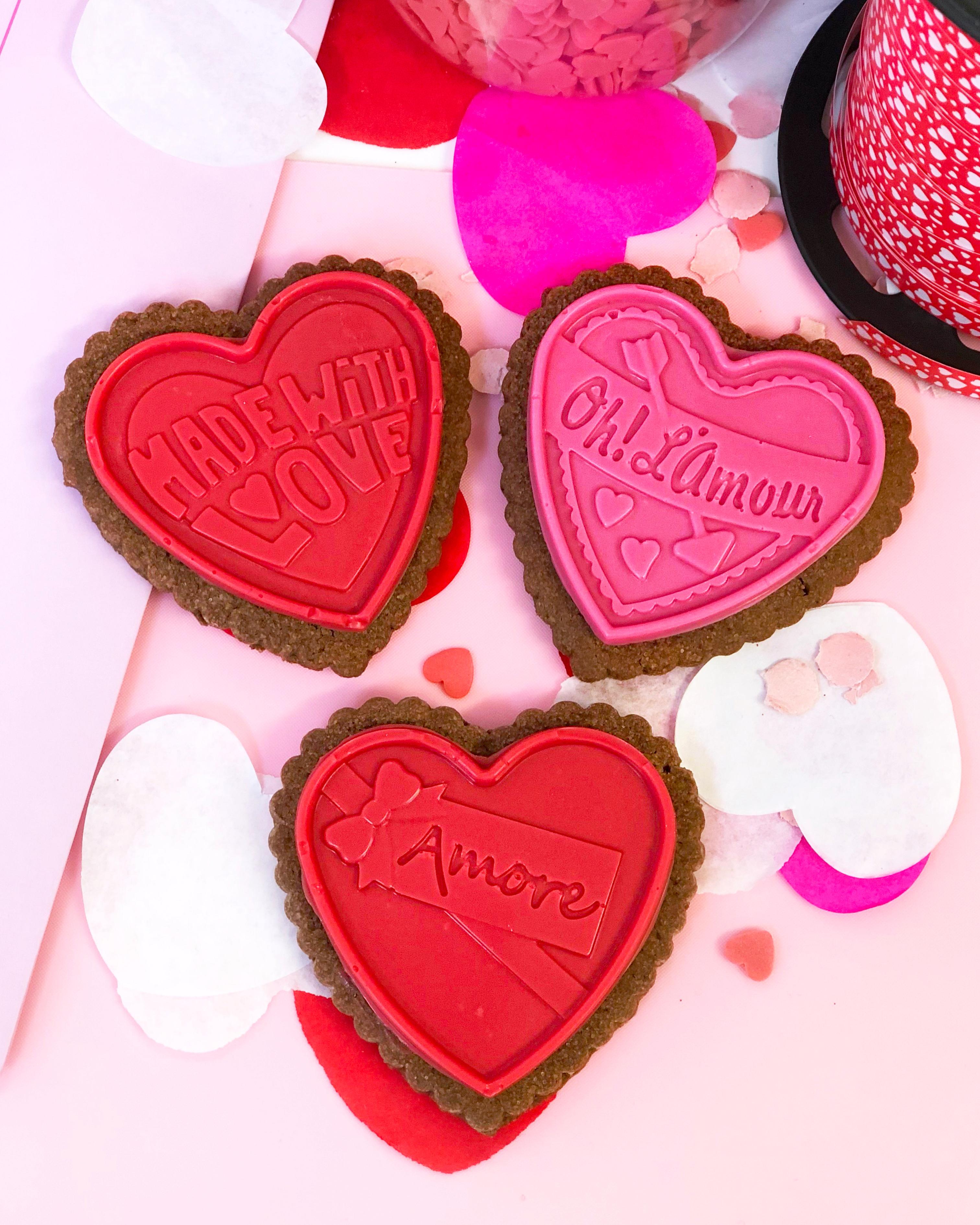 Trio galletas chocolate