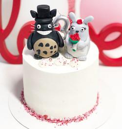 Tarta aniversario boda Totora