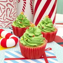 Cupcakes árbol navidad