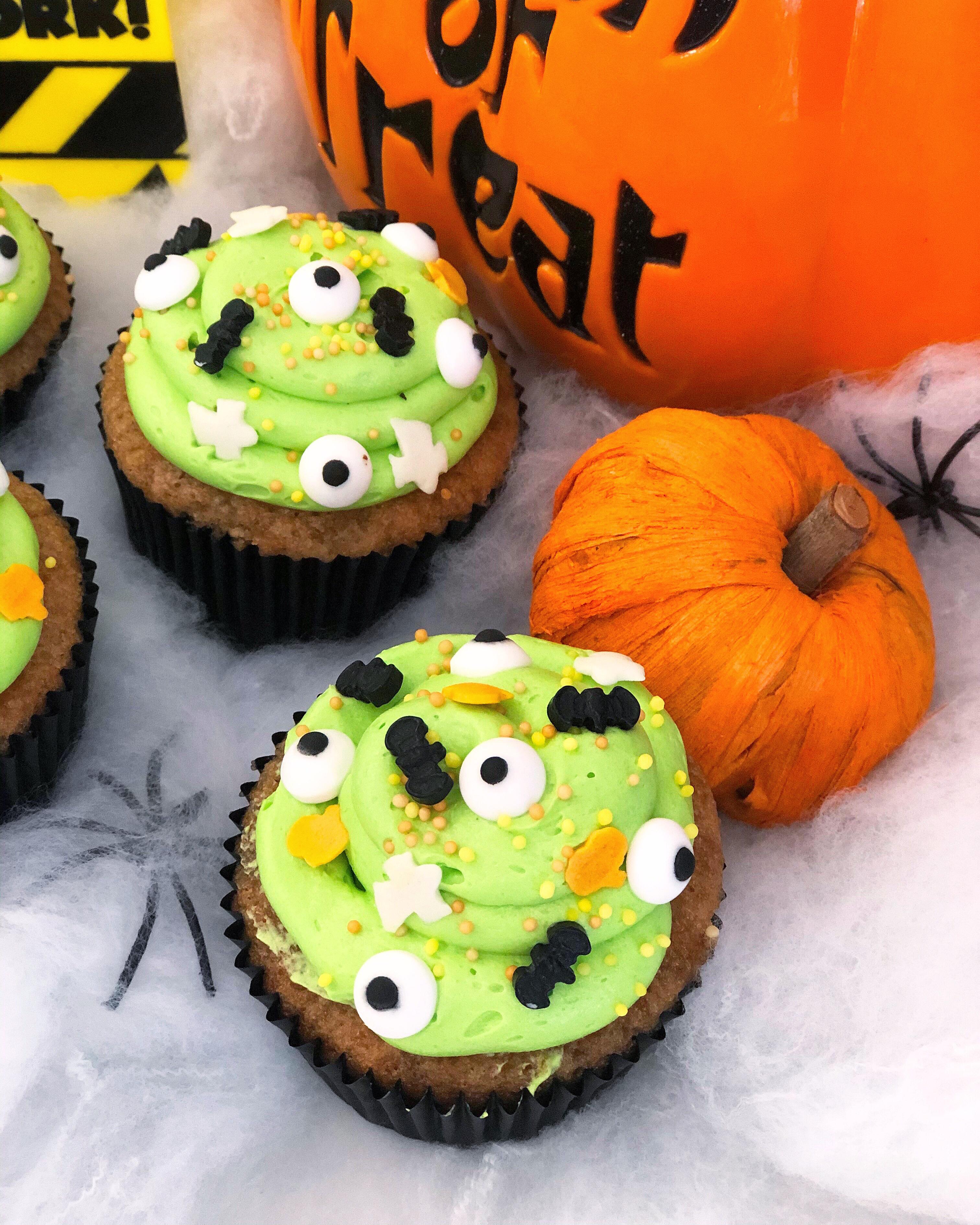 Cupcakes monstruo baba