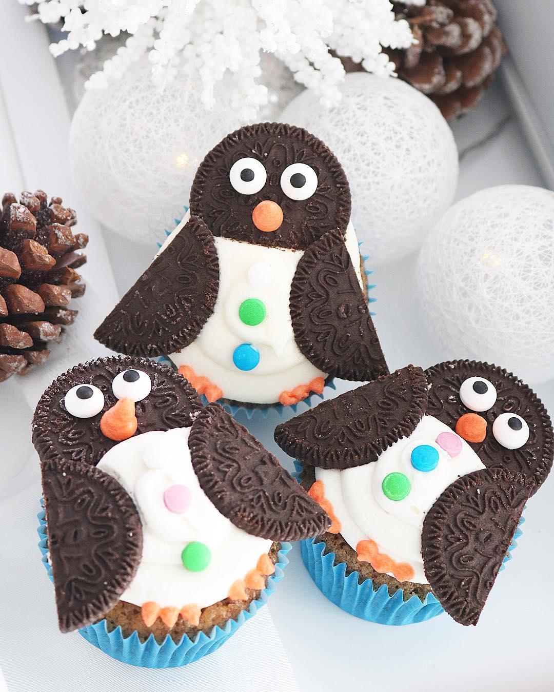 Cupcakes Pingüino