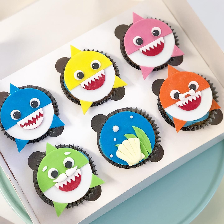 Cupcakes Baby Shark
