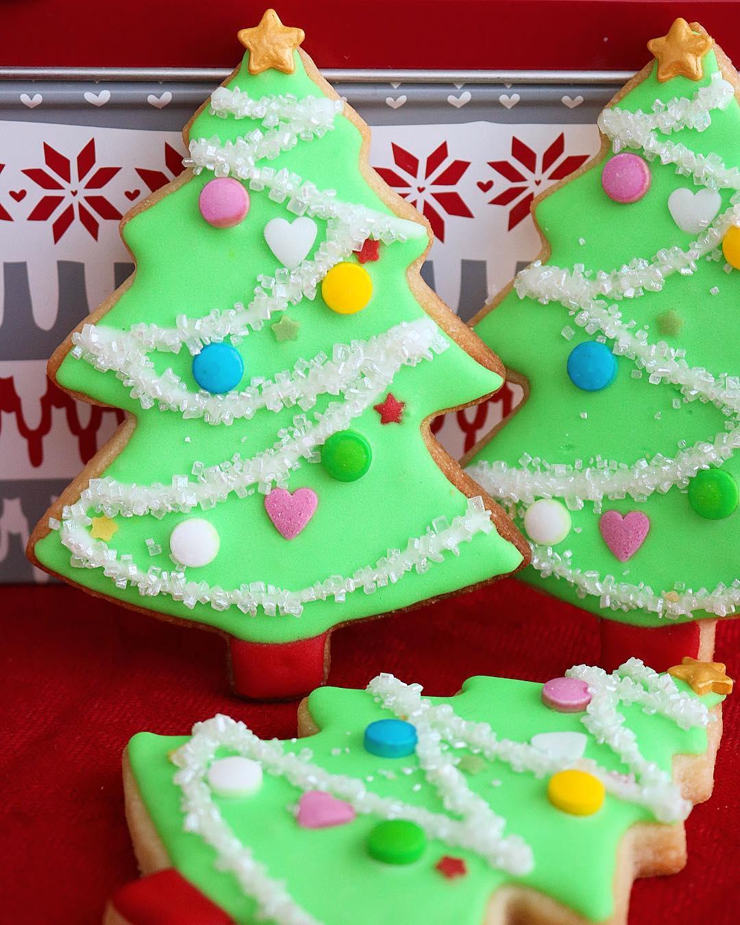 Galletas árbol Navidad