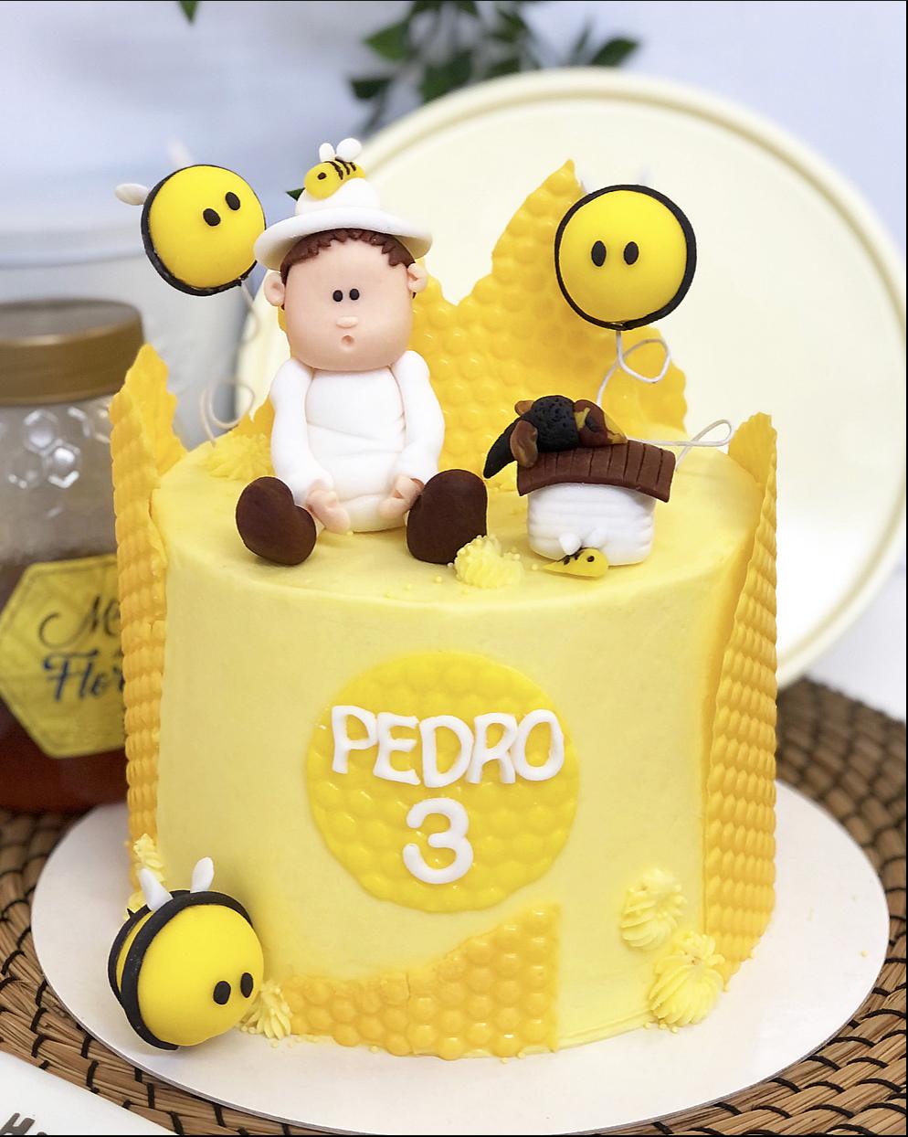 Tarta abejas