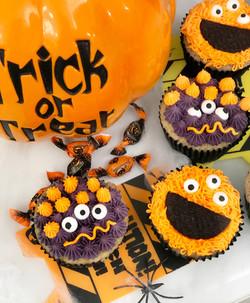 Cupcakes monstruos