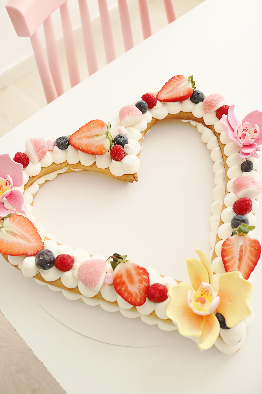 Pastel corazón