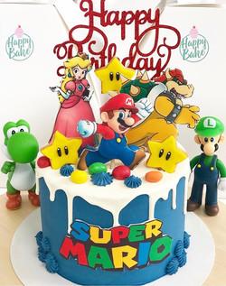 Tarta Super Mario