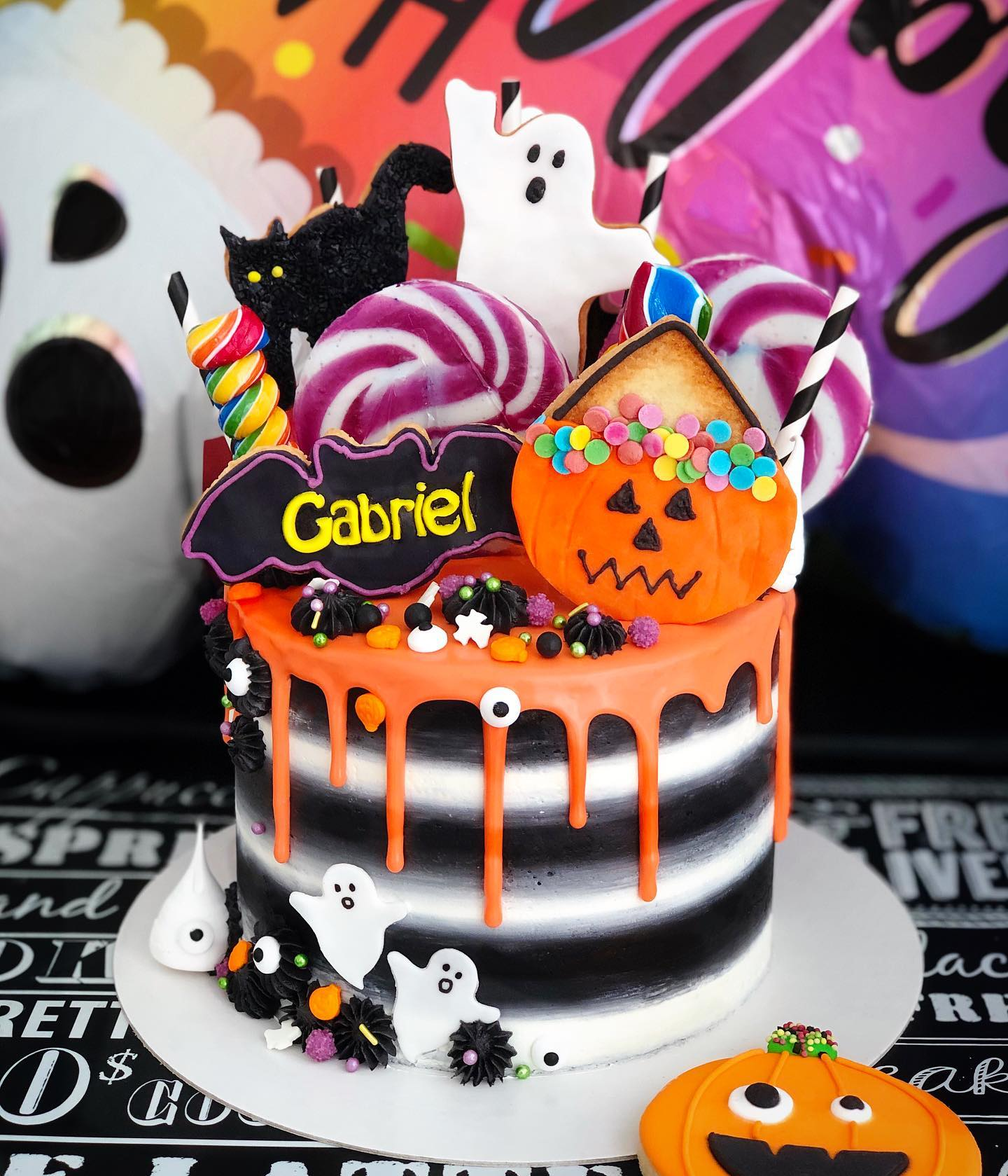 Tarta Halloween Candy