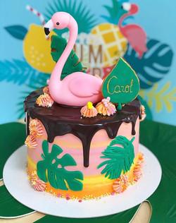 Tarta Flamingo