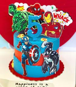 Tarta Marvel