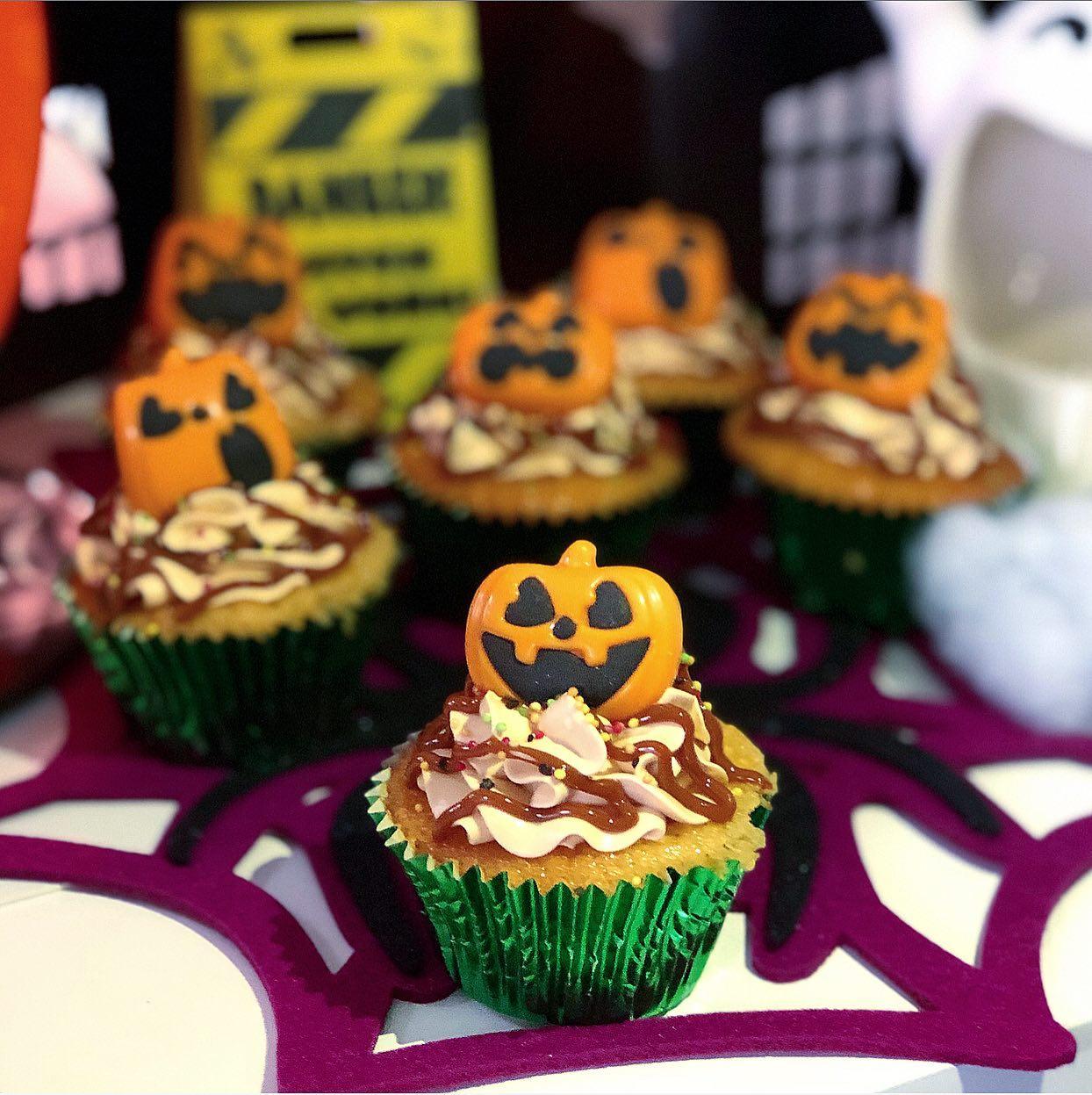 Cupcakes dulce de leche Halloween