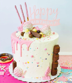 Drip cake fiesta