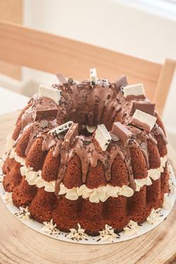 BUNDT CAKE RELLENO