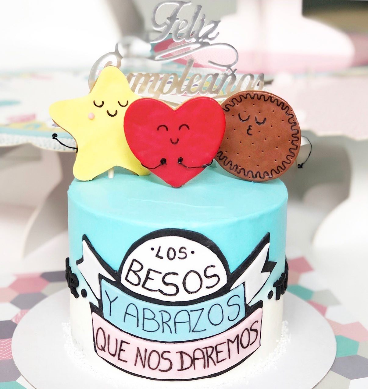 Tarta estilo Mr Wonderful